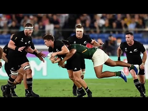 euronews (in English): All Blacks beat South Africa 23-13 in World Cup opening match
