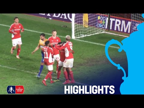 Charlton 5-0 Mansfield | Taylor Sensational Hat-Trick! | Round 1 | Emirates FA Cup 2018/19