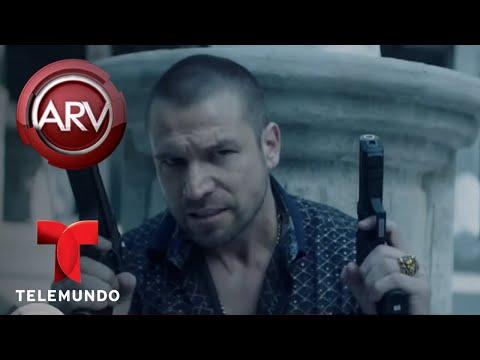 Rafael Amaya graba escenas peligrosas en Veracruz  Al Rojo Vivo  Telemundo