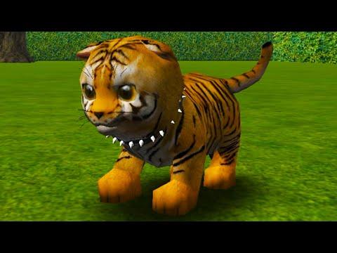 СИМУЛЯТОР КОШКИ #3 Маленький тигренок в кэт сим. Cat Simulator с Кидом на пурумчата