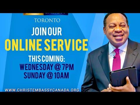 Christ Embassy Toronto Canada Service, Sunday, August 9th, 2020