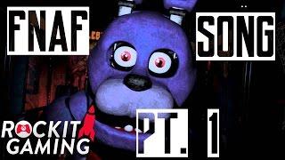 Five Nights At Freddy's - Rockit Gaming Rap Song   Teddy Bear Nightmare