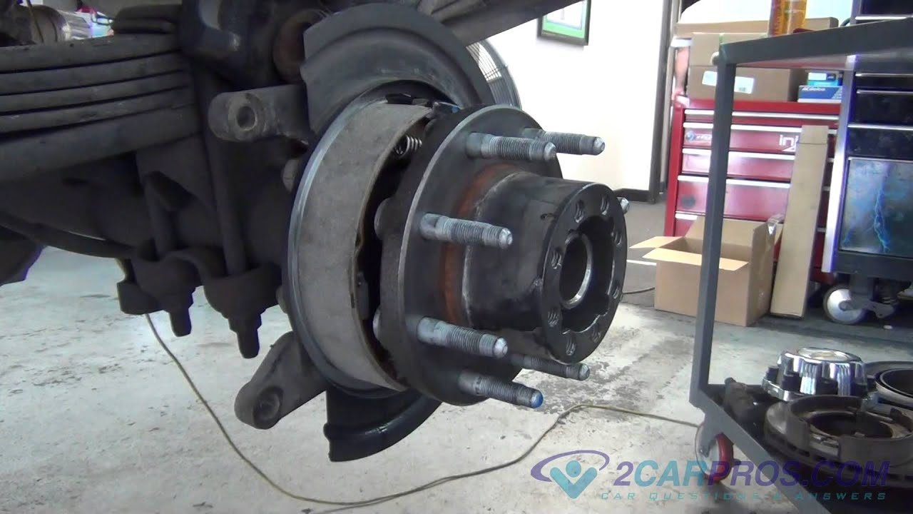 Rear Axle Bearing, Seal, EBrake shoes, Brake Pads & Rotor