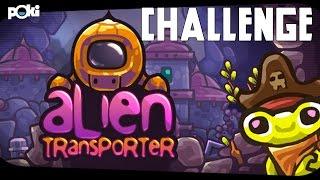 Space taxi! Alien Transporter Poki Challenge
