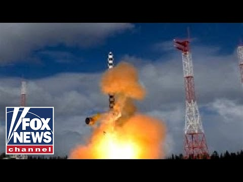 Russia test-launches \'Satan 2\' nuclear missile