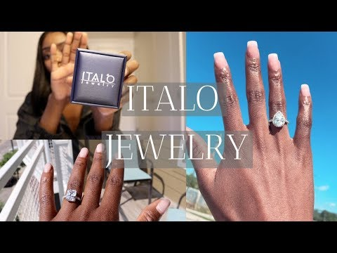 Affordable Beautiful Engagement & Wedding Rings For Women | Italo Jewelry Review By Angwi Tacho
