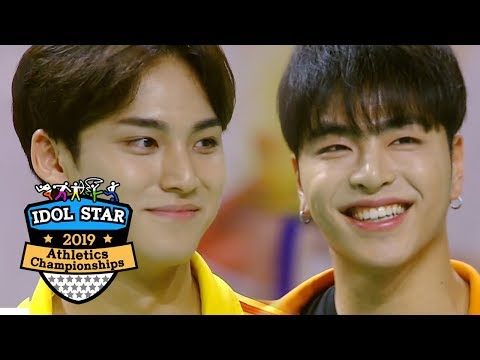 mingyu-is-the-tallest-among-the-players-of-the-shootout-[2019-idol-star-athletics-championships]