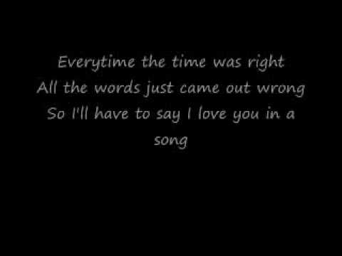Jim Croce - I'll Have To Say I Love You In A Song