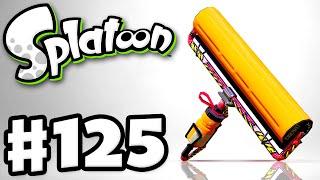 Splatoon - Gameplay Walkthrough Part 125 - Carbon Roller Deco! (Nintendo Wii U)