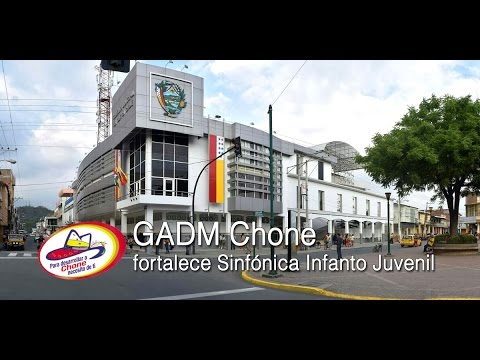 GADM Chone fortalece Sinfónica Infanto Juvenil