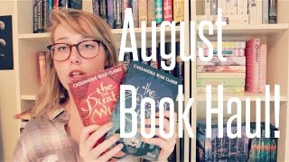 A Rather Large August Book Haul Thumbnail
