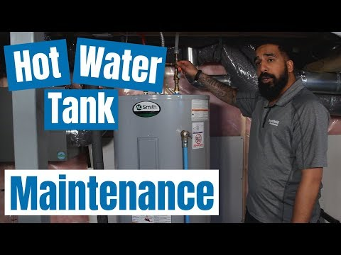 Hot water tank maintenance tips: For electric and gas hot water heaters
