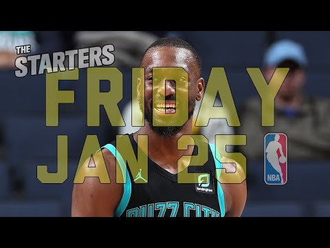 NBA Daily Show: Jan. 25 - The Starters thumbnail