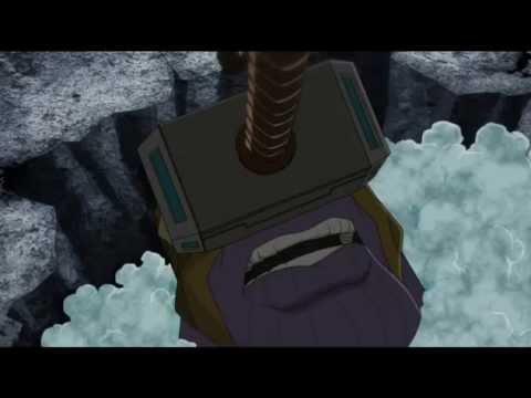 Thor vs. Thanos abbridged
