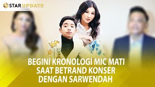 Konser Sukses Ruben Onsu Sarwendah Ungkapkan Ini Kepada Betrand Peto Putra Onsu Starupdate 22 09 MP3