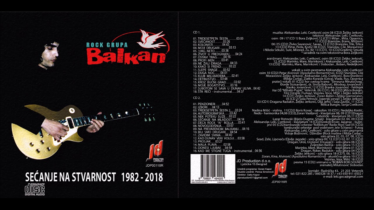 Grupa Balkan - Zivot u predgradju - (Audio 1989 - 2019)