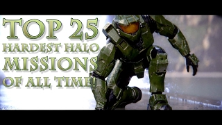 Top 25 HARDEST HALO Missions of All Time!