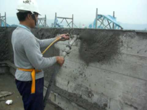 Shotcrete Machine Spray cement on the wall - YouTube on pool house designs, wedge house designs, small house designs, wheel house designs, power designs, tube house designs, florida house designs, bottle house designs, smoke house designs, hot house designs, dog house designs, 2015 house designs, eco house designs, log house designs, best house designs, trailer house designs, shed designs, off the grid house designs, cheap house designs, guard house designs,