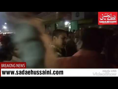 Mild communal tension in Hussaini Alam limit