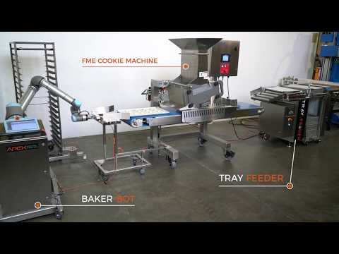 APEX Motion Control & FME Automated Robotic Cookie Production System