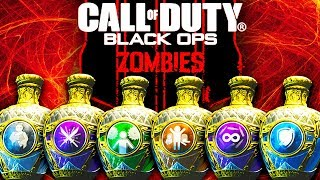 ALL ELIXIRS GAMEPLAY & EFFECTS EXPLAINED!! // BLACK OPS 4 ZOMBIES