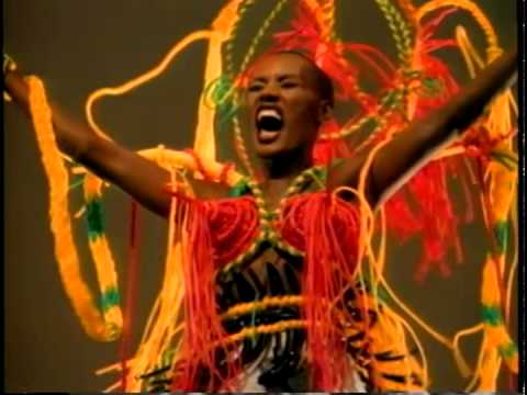 Grace Jones - I'm Not Perfect But I'm Perfect For You