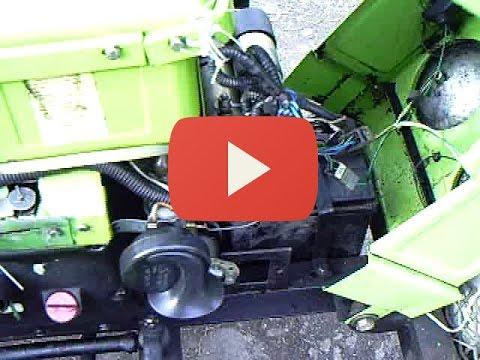 электро проводка мини трактора DW 150R