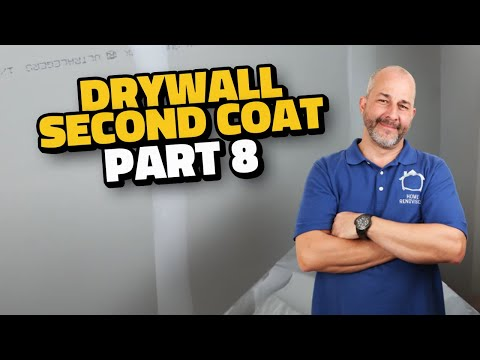 Complete Drywall Installation Guide Part 8 Second Coat And Corner Bead