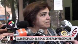 24/11/2015-19:21 AUDIENCIAS EN EL PENAL GENERA DIVERGENCIAS
