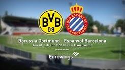 BVB gegen Espanyol Barcelona im Livestream