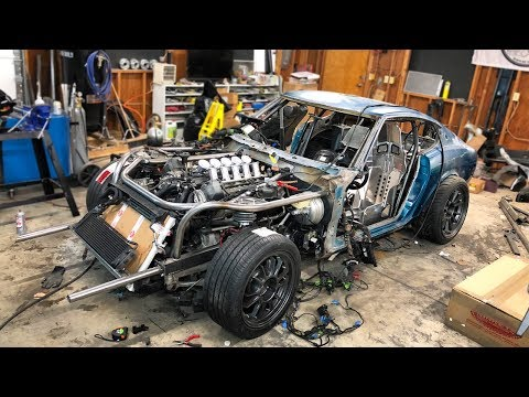 We Finished the 240z Exhaust and It Sounds Amazing! (ft. new seats :p)