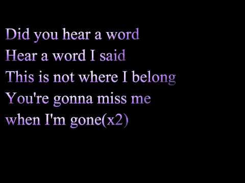 Better Off Dead by Sleeping With Sirens Lyrics