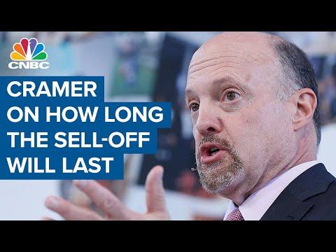 Jim Cramer: Market sell-off to last a few weeks