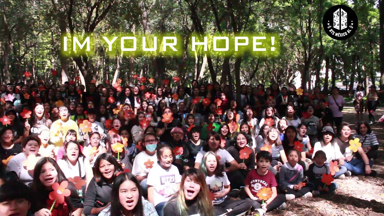 Happy HOPE-DAY ❤️ From Mexico to J-HOPE