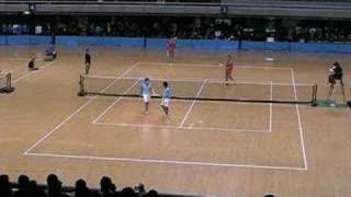 第46回東京インドア 全日本ソフトテニス大会 男子決勝1 佐々木洋介 検索動画 27