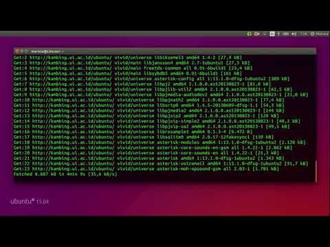 Tutorial VoIP Server Linux (Asterisk & Trixbox) Android-PC