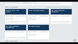 HOW TO FILE GSTR-1 ONLINE  LIVE DEMO  HINDI  STEP BY STEP