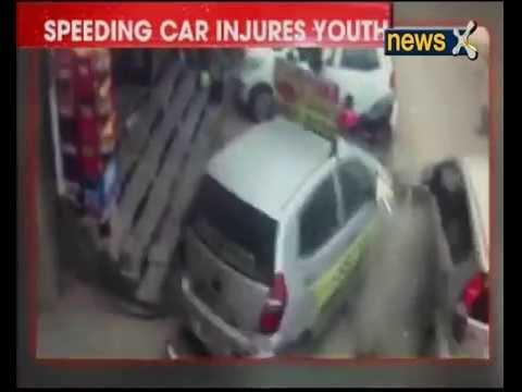 Shocking Accident Caught On Camera In Delhi S Malviya Nagar