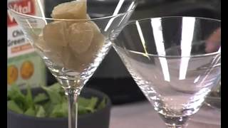 Vital: Green Tea Cocktail And Green Tea Energy Boost Slushy