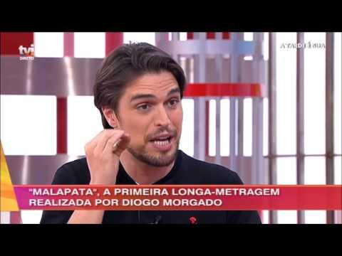 A Tarde É Sua  Entrevista com Diogo Morgado 15032017