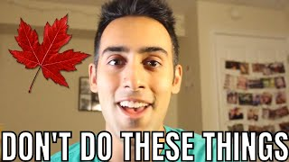 Gambar cover 10 Things Not to DO or SAY in Canada | Social Skills in Canada