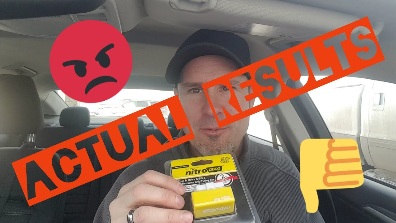 nitroOBD2 Performance Chip Tuning Box RESULTS & Review on 2016 Ford Fusion