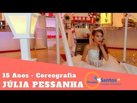 Coreografia 2018 - Valsa Debutante e Príncipe - Júlia Pessanha - Douglas Santos Coreógrafo
