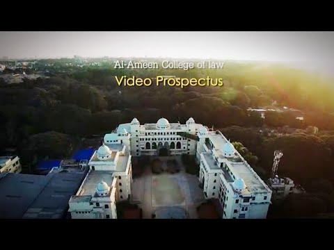 Al-Ameen College of Law - Bangalore official promo