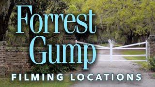 Forrest Gump Film Locations (2016) - Bench, Church, & Greenbow, AL