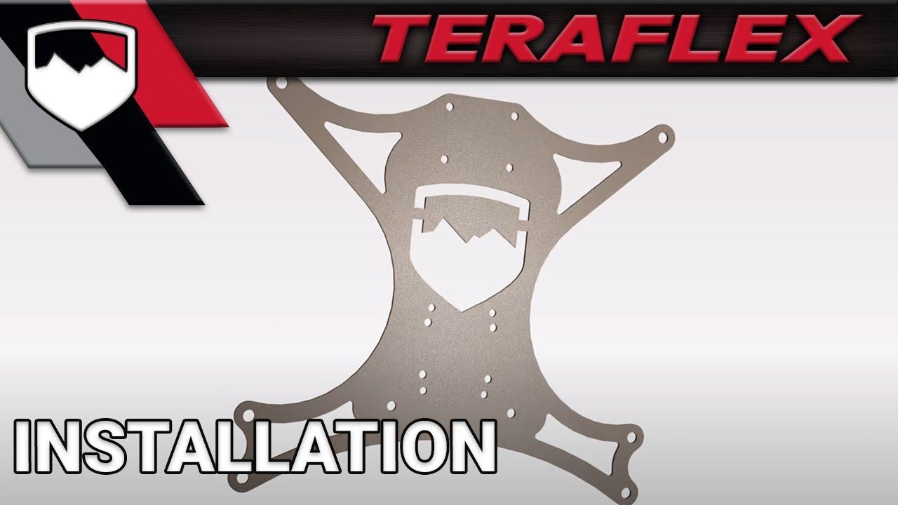 Wrangler Tj Wiring Diagram Automotive Electrical Symbols Teraflex Install: Jk Arb Compressor Under Seat Mounting Kit - Youtube