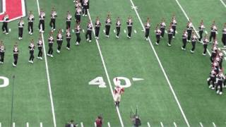 Ohio State marching Band Buckeyes on Broadway Halftime 10 01 2016 vs Rutgers