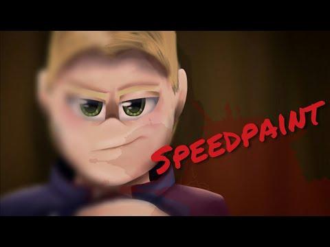 13+ [Gore] Nothing personal, it's just business... (Kindergarten 2 Speedpaint)