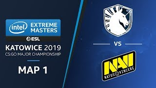 CS:GO - Liquid vs. NaVi [Mirage] Map1 Ro3 - Legends Stage - IEM Katowice 2019