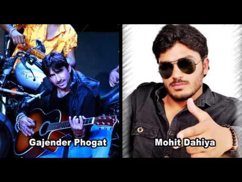 Gajender Phogat,K D and Mohit Dahiya Latest song
